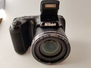 Nikon  Coolpix L340 20.2MP Digital Camera -    Black
