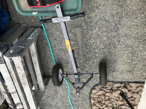 Hand Tow or Tow Behind Trailer Dolly