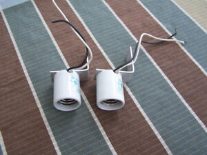 Mogul Sockets w. Brackets- for Aquarium Metal Halide Lamps