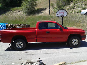 2001 Dodge Dakota Extended Cab