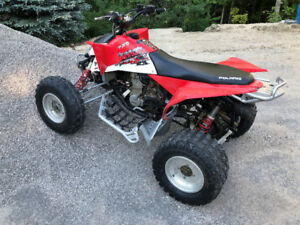 Polaris Outlaw 525 - Independent Rear Suspension - has ownership
