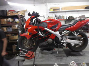 Experienced Service For All Honda Sport Bikes