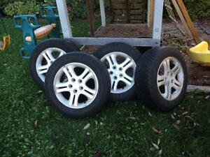 Chrysler Intrepid 4 Rims and tires 225/60/16 Kitchener / Waterloo Kitchener Area image 1