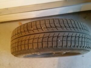 Winter Tires and Rims Perfect Condition