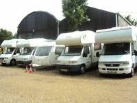 Motorhomes wanted ANY AGE ANY MODEL !!