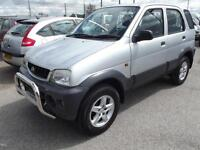 Daihatsu Terios 1.3 auto Tracker 5 DOOR 4X4 AUTOMATIC ONLY 98,000 MILES