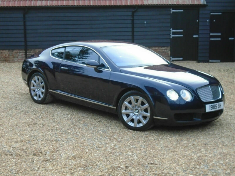 2004 Bentley Continental Gt 6 0 552bhp Auto 36000 Miles