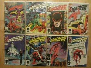 31 old Daredevil comics including #250 & #300 Typhoid Mary
