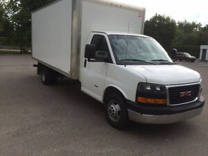 2014 GMC Savana Cube Truck 16 ft with Certificate of Inspection!