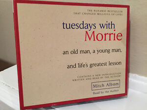 """AUDIO CD - """"TUESDAYS WITH MORRIE"""""""