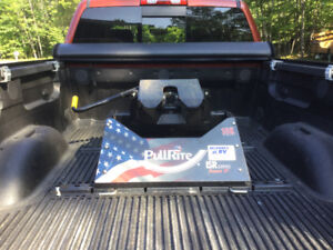 Pull right fifth wheel hitch