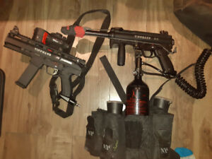 Stock de paintball ( Gun Vendu)