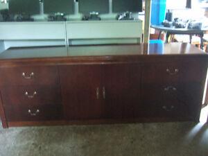 big wooden dresser 7 ft x 21'' only $40
