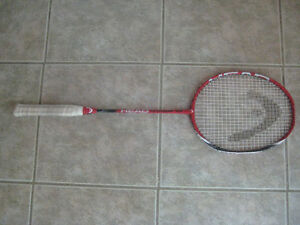 badminton head titanium