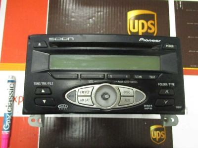 Audio Equipment Radio Receiver Am-fm-cd Fits 06 SCION XA 0860021800