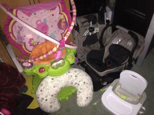 robeeze,britax stroller/car seat,mirror,seat protector, nurcing