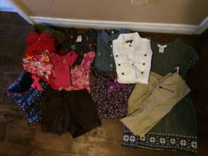 Girls size 6 to 10 clothing lot.