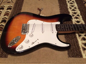Electric Guitar. Squier, By Fender // And Guitar Case