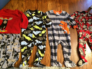 Boys pajamas from Carters, 18 months, almost new