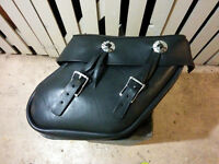 For sale: Leather saddle bags