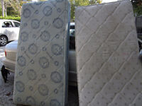 Two Twin Mattresses