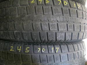 245/70/17 pair of tires