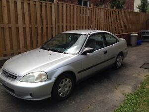 2000 Honda Civic low kilometres Kitchener / Waterloo Kitchener Area image 1