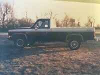 Wanted : 73-87 Chev or GMC 4x4