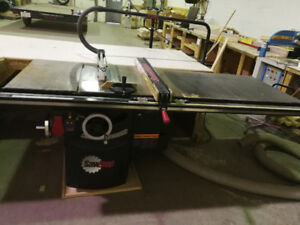 """SawStop 10"""" 5HP Industrial Cabinet Saw"""