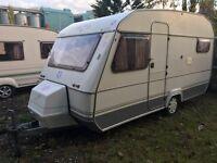 Sprite alpine 4 5 berth touring caravan