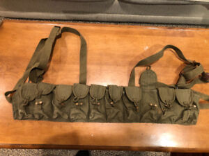 Chinese military surplus SKS chest harness bandolier