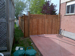 Fences and Decks installation, repairs and post setting Kitchener / Waterloo Kitchener Area image 4
