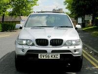 "2006 56 BMW X5 3.0 D SPORT EXCLUSIVE 5dr WITH FSH+PANROOF+SATNAV+20"" WHEELS++"
