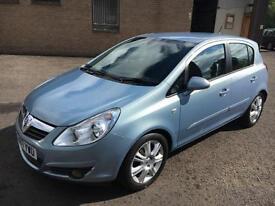 0707 Vauxhall Corsa 1.4i 16v Automatic Design Blue 5 Door # 23896mls #