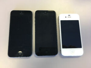 Two iPhone 5's, One iPhone 4S