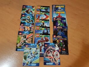 Lego lot-Chima,Marvel,DC,etc.
