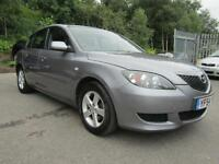 MAZDA 3 TS, Grey, Manual, Petrol, 2005 1 OWNER FROM NEW FSH 2 KEYS