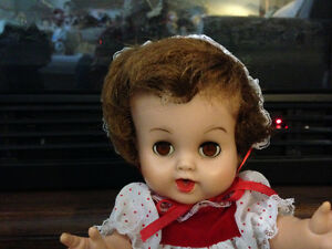 Tiny Tears Doll by Dee and Cee circa 1958 ~ Made in Canada London Ontario image 2