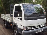 Nissan cabstar truck drop side 3.0 td 2004 only 70,000 miles no vat