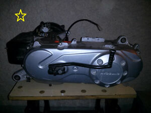 2 motors and transmissions from Hyosung scooters