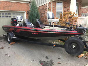 --SOLD--1995 NITRO 190DC BEAUTIFULL BASS BOAT -150HP YAMAHA VMAX