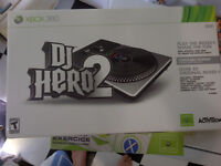 DJ Hero 2 in Box No Game Nice Condiition