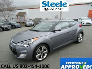 2017 HYUNDAI VELOSTER Tech Navigation alloys backup camera loade