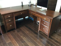 COMPLETE SET OF OFFICE FURNITURE