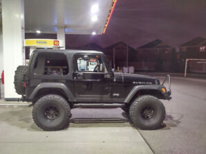 2003 Jeep Wrangler TJ Rubicon MINT. low km. Lifted - NEW PRICE