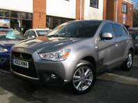 2012 12-Reg Mitsubishi ASX 3 1.8TD 4x4 Low Tax,FSH,LOVELY SPEC,MUST SEE!!!