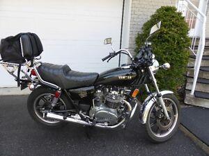 Moto Yamaha XS 650-SG 1981 odometre reel 30458 km