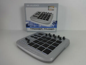 M-Audio Trigger Finger USB Drum Pad Controller!