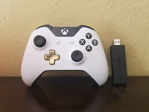Xbox one lunar controller with windows 10 wireless dongle