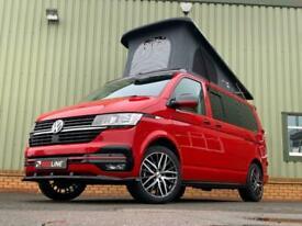 2020 VW Transporter T6.1 Highline Red Campervan, Brand New Campervan Conversion